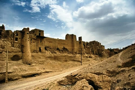 the Ruin city of Izadkhast  IRAN