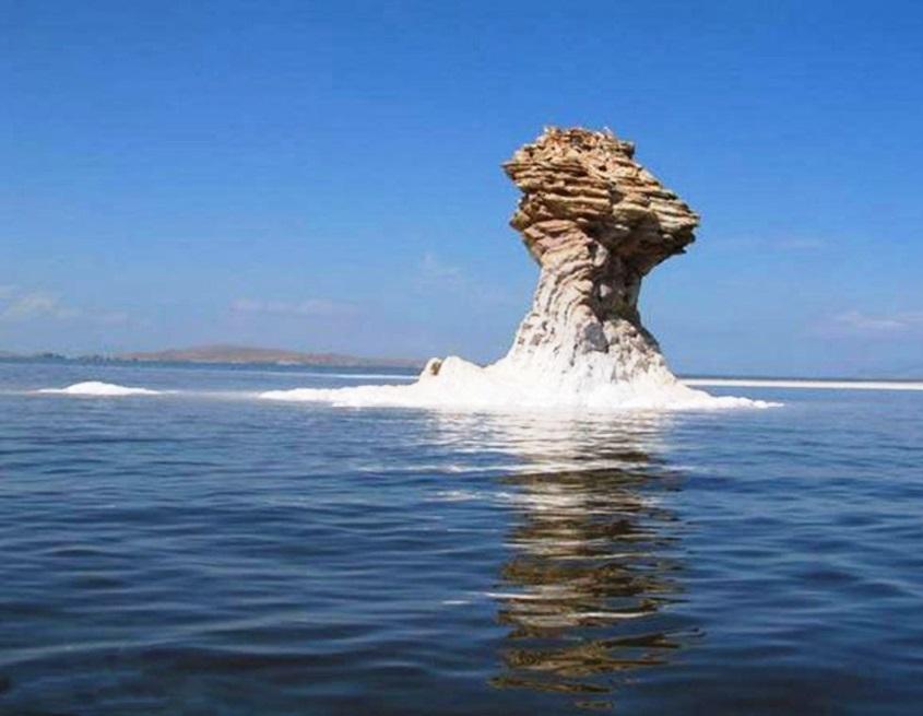 ORUMIYE lake IRAN