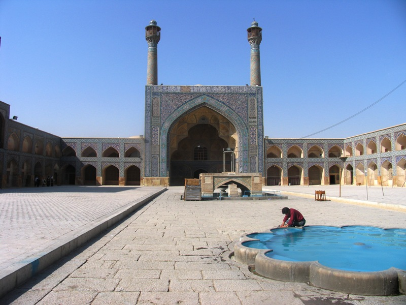 IRAN ISFAHAN Jamme mosque