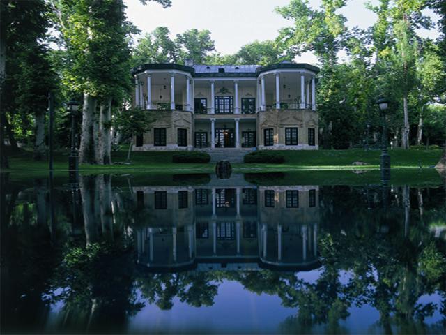 Saadabad palace in Tehran