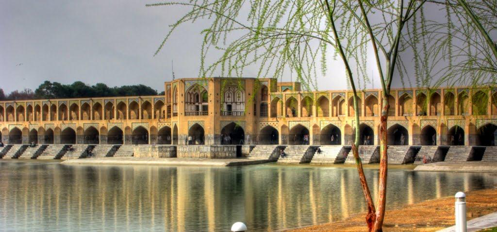 River in Isfahan