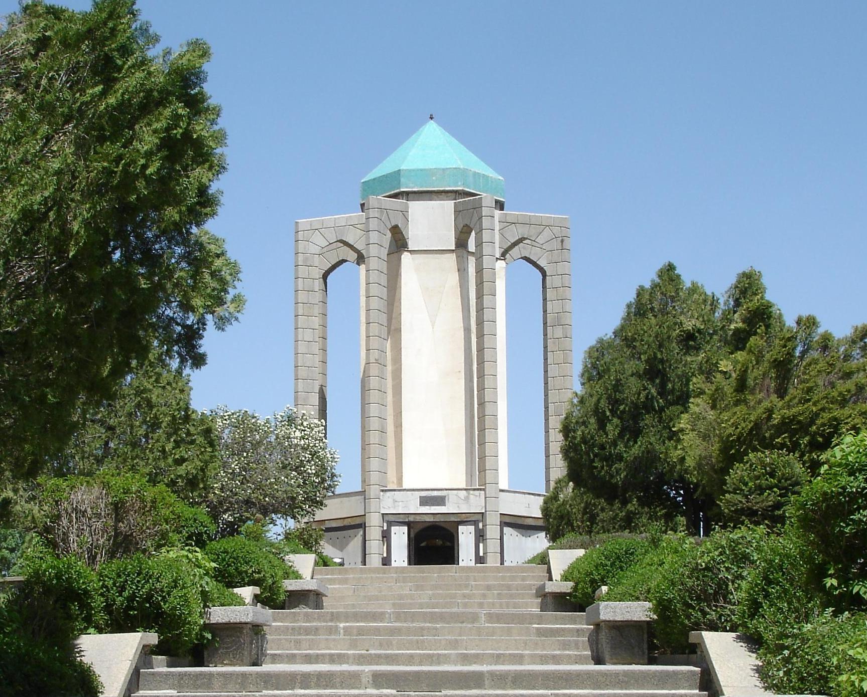 Bu ali sina Tomb Hamedan