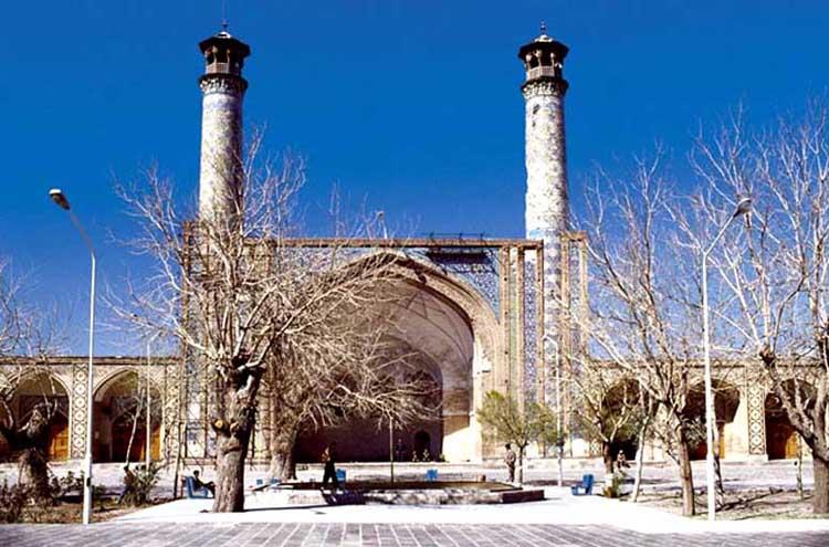 Mosque in Qazvin