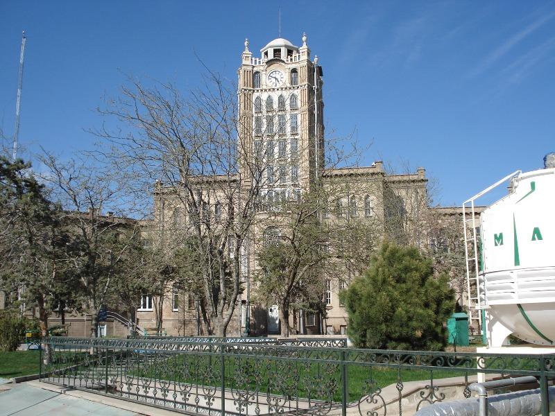 Clock tower Tabriz