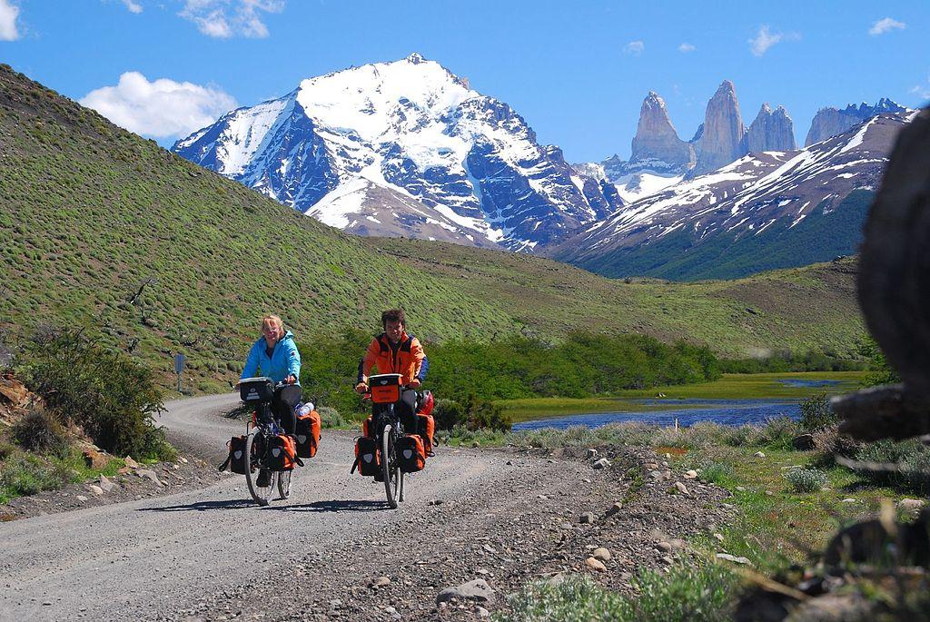 Iran bike tour view